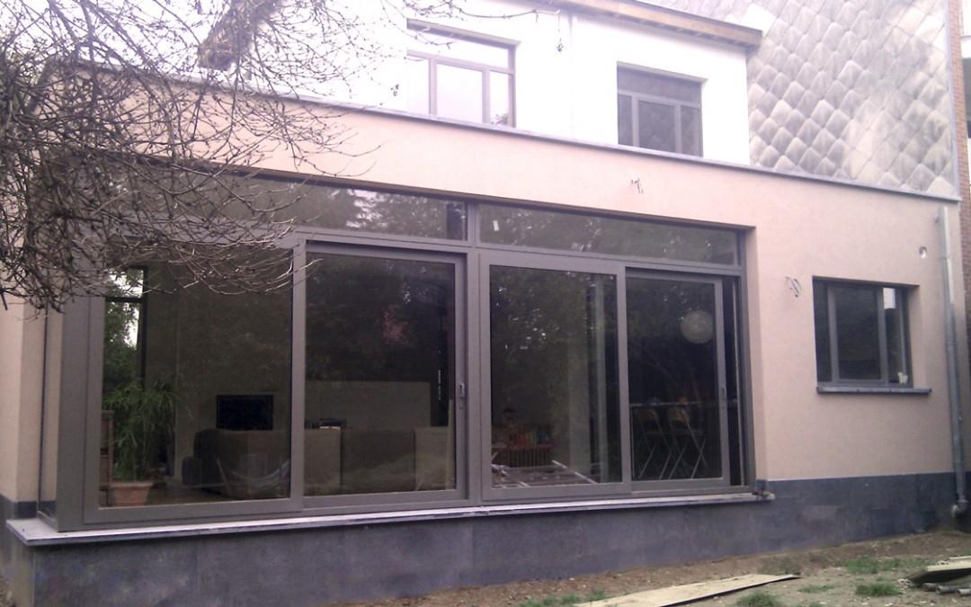 Extension maison 3 façades