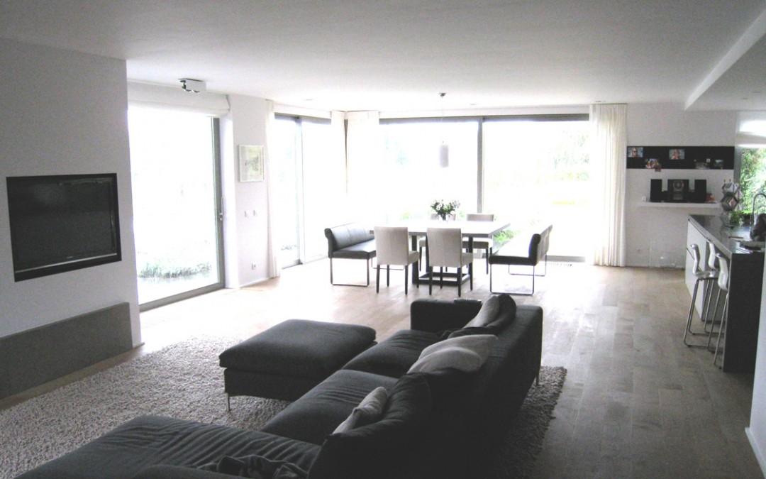 Rénovation d'une maison en habitation esprit loft