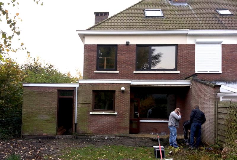 Transformation maison en habitation esprit loft