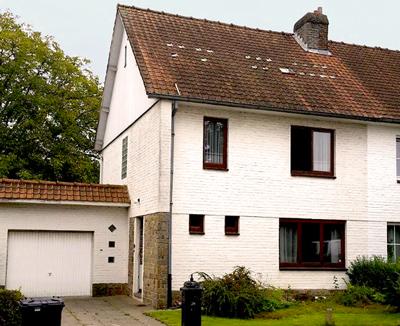 Gros oeuvre, toiture et rénovation d'une maison trois façades