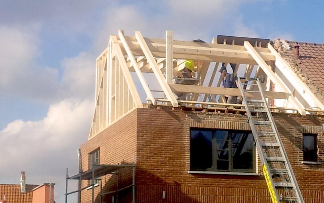 Rénovation d'une toiture en un temps record