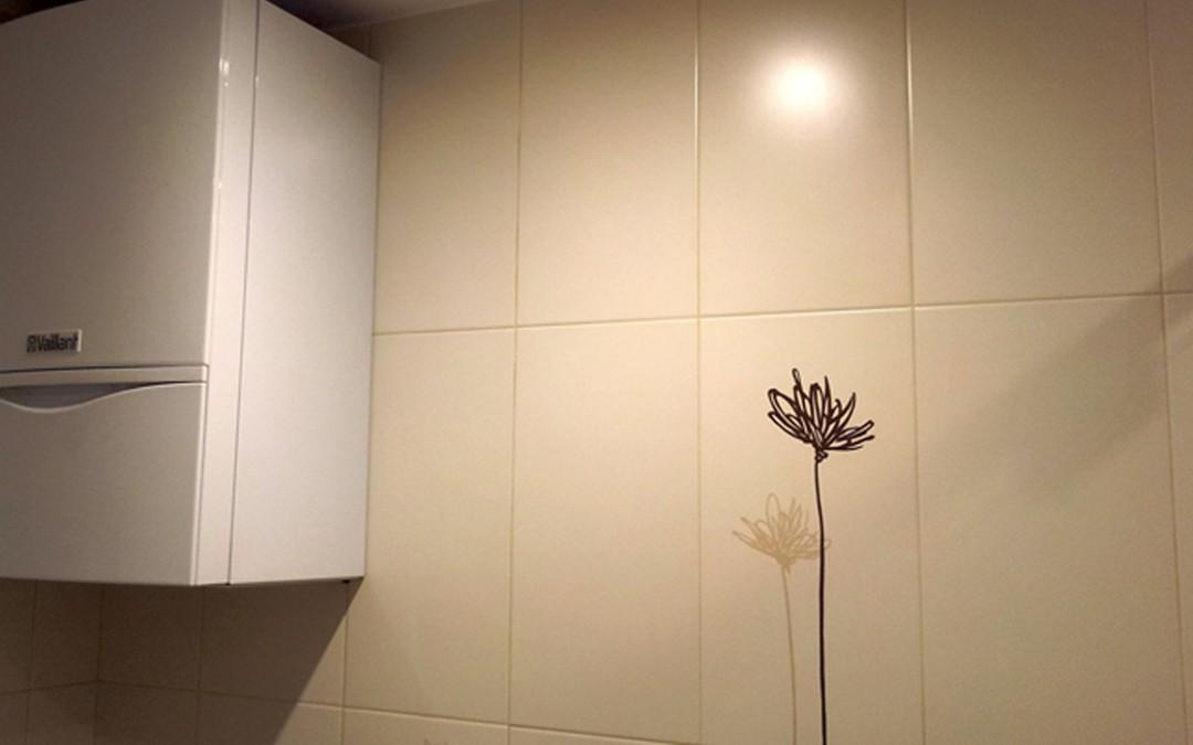 Installation d'un système de chauffage aux tuyaux invisibles