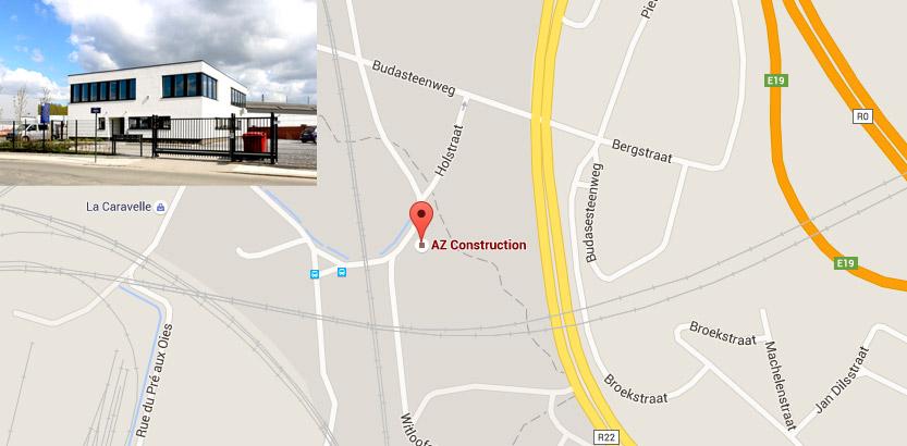 AZ construction / localisation